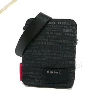 ディーゼル DIESEL メンズ ショルダーバッグ F-DISCOVER ロゴ柄 サコッシュ ブラック X04815 PR027 H5839 [在庫品]|brandol