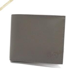 ディーゼル DIESEL メンズ 二つ折り財布 モヒカンスタンプ HIRESH S シープレザー グレー X05081 P1508 T8085 [在庫品]|brandol