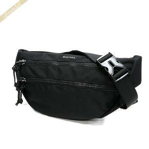 ディーゼル DIESEL メンズ ボディバッグ F-URBHANITY BUMBAG ウェストバッグ ブラック×オレンジ X05120 P1516 T8013|brandol