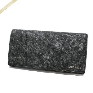 ディーゼル DIESEL 財布 メンズ 長財布 レザー グレー系 X05266 P0517 H1572 [在庫品]|brandol
