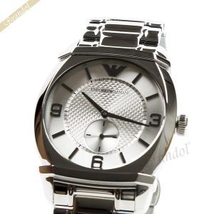 エンポリオアルマーニ EMPORIO ARMANI メンズ腕時計 クラシック 43mm シルバー AR0339 [在庫品]|brandol