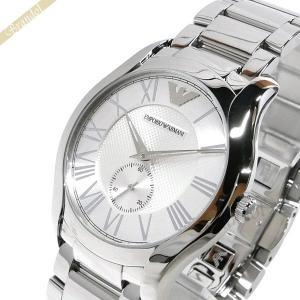 エンポリオアルマーニ EMPORIO ARMANI メンズ腕時計 VALENTE 43mm シルバー AR11084 [在庫品]|brandol