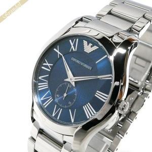 エンポリオアルマーニ EMPORIO ARMANI メンズ 腕時計 VALENTE ヴァレンテ 43mm ブルー×シルバー AR11085 [在庫品]|brandol