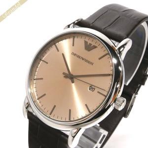 エンポリオアルマーニ EMPORIO ARMANI メンズ 腕時計 LUIGI ルイージ 43mm ブラウン AR11096 [在庫品]|brandol