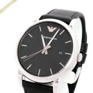 エンポリオアルマーニ EMPORIO ARMANI メンズ 腕時計 Classic クラシック 41mm ブラック AR1692 [在庫品]|brandol