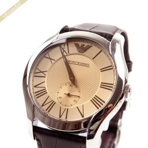 エンポリオアルマーニ EMPORIO ARMANI メンズ腕時計 クラシック 43mm ブラウン AR1704 [在庫品]|brandol