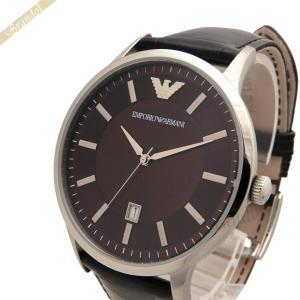エンポリオアルマーニ EMPORIO ARMANI メンズ腕時計 クラシック 43mm ブラウン AR2413 [在庫品]|brandol