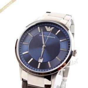 エンポリオアルマーニ EMPORIO ARMANI メンズ腕時計 クラシック 43mm ブルー AR2477 [在庫品]|brandol