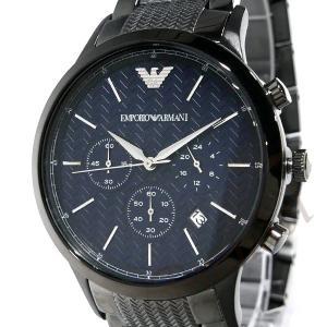 エンポリオアルマーニ EMPORIO ARMANI メンズ 腕時計 クロノグラフ 43mm ネイビー×ブラック系 AR2505 [在庫品]|brandol|03