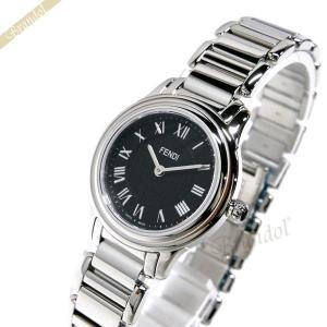 フェンディ FENDI レディース腕時計 MODA 26mm ブラック×シルバー F251021000 [在庫品]|brandol