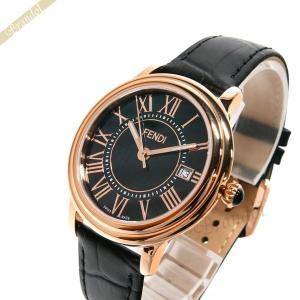 フェンディ FENDI メンズ腕時計 クラシコ ラウンド 38mm ブラック F256511011 [在庫品]|brandol