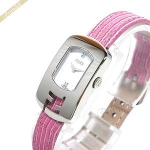 フェンディ FENDI レディース腕時計 カメレオン ダイヤモンド ホワイト×ピンク F300024071D1 [在庫品] brandol