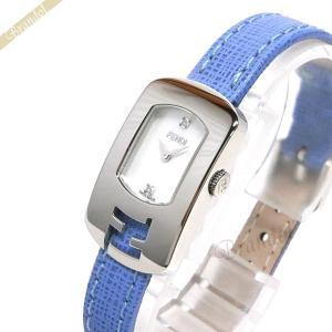 フェンディ FENDI レディース腕時計 カメレオン ダイヤモンド ホワイトシェル×ライトブルー F300024532D1 [在庫品] brandol