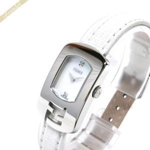 フェンディ FENDI レディース 腕時計 カメレオン ダイヤモンド ホワイトシェル×ホワイト F300024541D1 [在庫品]|brandol