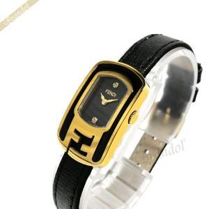 フェンディ FENDI レディース腕時計 カメレオン ブラック×ゴールド F311421011D1 [在庫品]|brandol