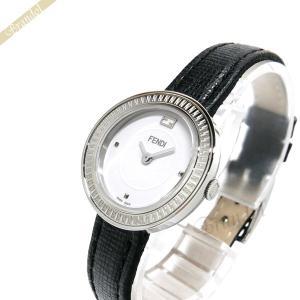 フェンディ FENDI レディース腕時計 MayWay 28mm ホワイト×ブラック F354024011 [在庫品]|brandol