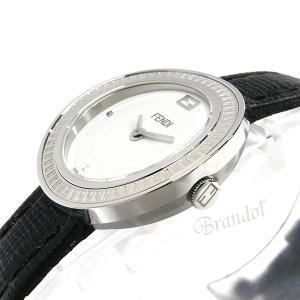 フェンディ FENDI レディース腕時計 MayWay 28mm ホワイト×ブラック F354024011 [在庫品]|brandol|04