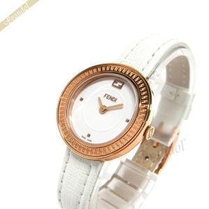 フェンディ FENDI レディース腕時計 MayWay 28mm ホワイト F354524041 [在庫品]|brandol