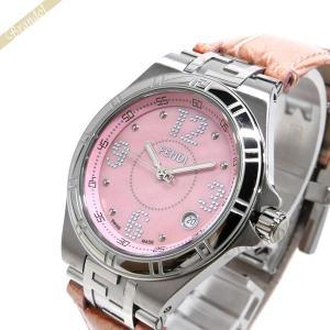 フェンディ FENDI レディース 腕時計 ハイスピード 3.6mm ピンク F414377|brandol