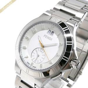 フェンディ FENDI メンズ腕時計 ハイスピード 43mm ホワイト×シルバー F478160 [在庫品]|brandol