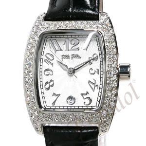 フォリフォリ Folli Follie レディース腕時計 ラインストーン トノー型 ホワイト×ブラック S922ZI SLV/BLK [在庫品]|brandol|03