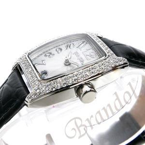 フォリフォリ Folli Follie レディース腕時計 ラインストーン トノー型 ホワイト×ブラック S922ZI SLV/BLK [在庫品]|brandol|04