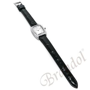 フォリフォリ Folli Follie レディース腕時計 ラインストーン トノー型 ホワイト×ブラック S922ZI SLV/BLK [在庫品]|brandol|05