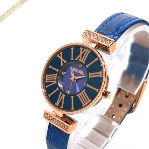 フォリフォリ Folli Follie レディース腕時計 ミニ ダイナスティ 26mm ターコイズブルー WF13B014SSU BL [在庫品]|brandol