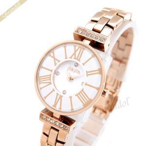 フォリフォリ Folli Follie レディース腕時計 Winter Dream DYNASTY 26mm ホワイト×ローズゴールド WF15B028BSW-XX [在庫品]