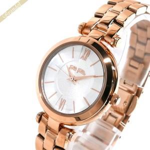 フォリフォリ Folli Follie レディース 腕時計 レディー バブル 30mm シルバー×ピンクゴールド WF16R009BPS [在庫品]|brandol