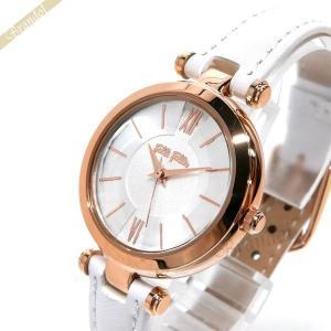 フォリフォリ Folli Follie レディース腕時計 レディー バブル 30mm シルバー×ホワイト WF16R009SPS WH [在庫品]