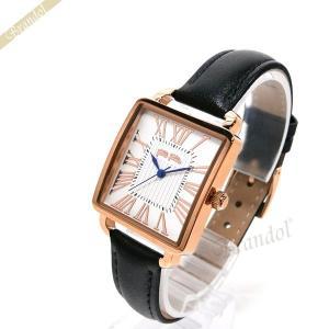 フォリフォリ Folli Follie レディース腕時計 レトロ スクエア ホワイト×ブラック WF16R012SPS BK [在庫品] brandol