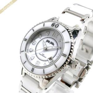 フォリフォリ Folli Follie レディース 腕時計 33mm ホワイト×シルバー WF4T0015BDW [在庫品]|brandol