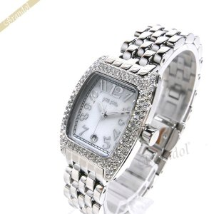 フォリフォリ Folli Follie レディース腕時計 ホワイトパール×シルバー WF5T081BZW|brandol