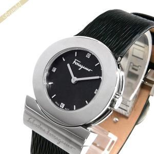 フェラガモ Ferragamo レディース腕時計 ガンチーニ 30mm ブラック F56SBQ9929S009 [在庫品]|brandol