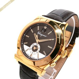 フェラガモ Ferragamo メンズ 腕時計 1989 40mm ブラウン×ローズゴールド F62LDT5095S497 [在庫品]|brandol