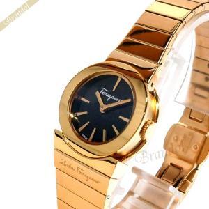 フェラガモ Ferragamo レディース腕時計 ガンチーニソワレ ブラック×ピンクゴールド F70SBQ5099S080 [在庫品] brandol