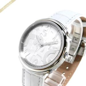 フェラガモ Ferragamo レディース腕時計 LOGOMANIA ロゴマニア 35mm ホワイト FFY010017 [在庫品]|brandol