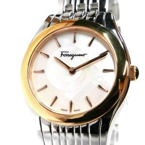 フェラガモ Ferragamo レディース腕時計 ガンチーニモチーフ 32mm ホワイトパール×シルバー FG4040014 [在庫品] brandol 03