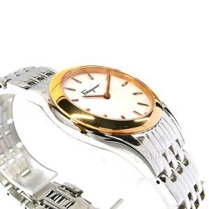 フェラガモ Ferragamo レディース腕時計 ガンチーニモチーフ 32mm ホワイトパール×シルバー FG4040014 [在庫品] brandol 04
