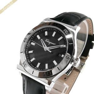 フェラガモ Ferragamo メンズ腕時計 1898 40mm ブラック×シルバー FH1040017 [在庫品] brandol