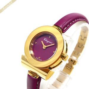 フェラガモ Ferragamo レディース 腕時計 ガンチーニ ブレスレット 25mm ピンク×ゴールド FII060015 [在庫品]|brandol