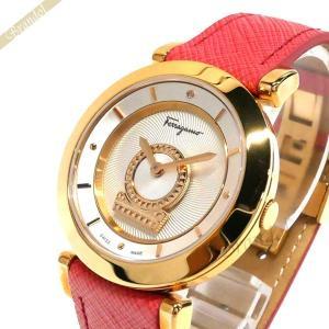 フェラガモ Ferragamo レディース腕時計 メヌエット Minuetto 37mm シルバー×ピンク FQ4240015 [在庫品] brandol