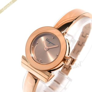 フェラガモ Ferragamo レディース 腕時計 Gancino ガンチーニ ブレスレット 23mm ピンクゴールド FQ5110017 [在庫品]|brandol