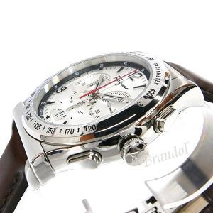 フェラガモ Ferragamo メンズ腕時計 クロノグラフ 42m シルバー×ブラウン SFDK00118 [在庫品]|brandol|04