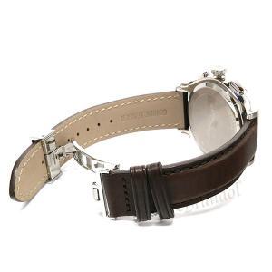 フェラガモ Ferragamo メンズ腕時計 クロノグラフ 42m シルバー×ブラウン SFDK00118 [在庫品]|brandol|05