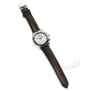 フェラガモ Ferragamo メンズ腕時計 クロノグラフ 42m シルバー×ブラウン SFDK00118 [在庫品]|brandol|06