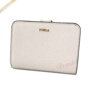 フルラ FURLA レディース 二つ折り財布 バビロン レザー ホワイト系 PBF8 B30 454 / 1023511 [在庫品]|brandol