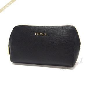 フルラ FURLA ポーチ エレクトラ ELECTRA レザー コスメポーチ ブラック EM32 B30 O60 / 822984 [在庫品]|brandol