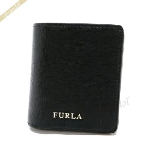 フルラ FURLA レディース 二つ折り財布 バビロン ミニ財布 レザー ブラック PR74 B30 O60 / 870999 [在庫品]|brandol